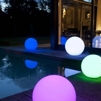 éclairage LED jardin
